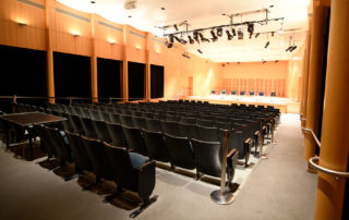 Elebash Recital Hall - Theater Rental in NYC. Elegant recital hall ideal to meet acoustical needs of music and spoken word performances.