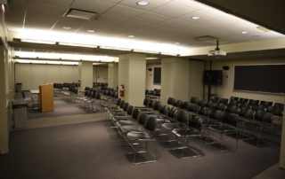 Proshansky Auditorium - Auditorium Rental in NYC. Breakout rooms, seating, and handicap accessible space.